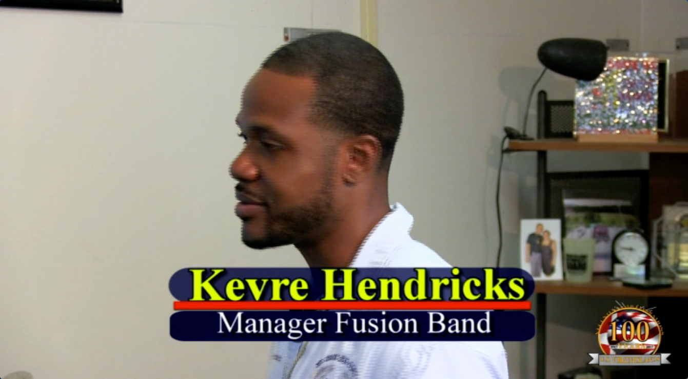 Kevre Hendricks Manager Fusion Band In Studio