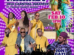 Soca In the Market - 2018 Carnival Warmup Event - Sat. Feb 10, 3pm to midnight