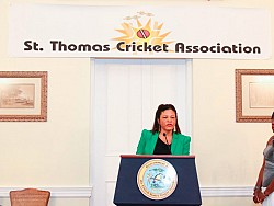 Proud Sponsor of St. Thomas Cricket Association Sports Match