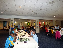 VI Lottery Supports VI Children in Chess Tournament